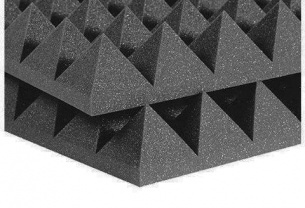 Акустический поролон. Пирамиды 70