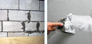 1. Подготовка поверхности к монтажу
