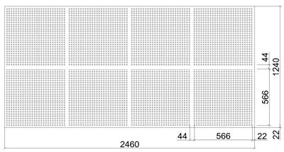 Размеры листа