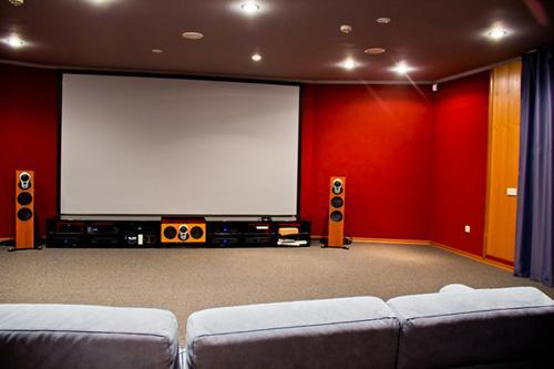 Home theater acoustic