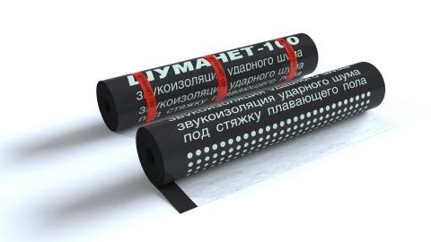 Шуманет-100Гидро - Звукоизоляционные материалы для пола, купить материалы для шумоизоляции пола, выгодные цены - Acoustic Group