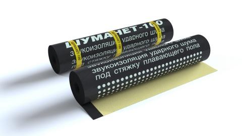 Шуманет-100Комби - Звукоизоляционные материалы для пола, купить материалы для шумоизоляции пола, выгодные цены - Acoustic Group